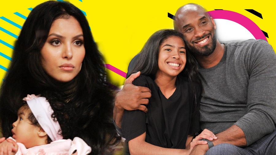 Vanessa Bryant, Gianna Bryant y Kobe Bryant