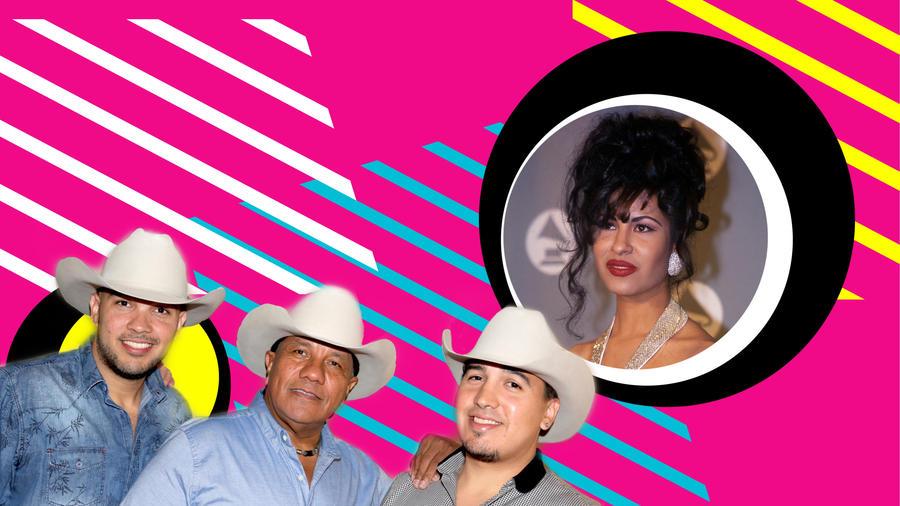 Grupo Bronco y Selena Quintanilla
