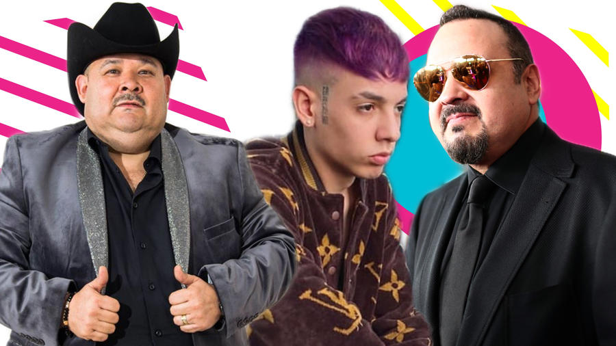 El Coyote, Natanael Cano y Pepe Aguilar