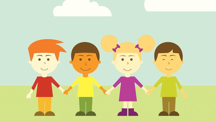Niños de distintas culturas