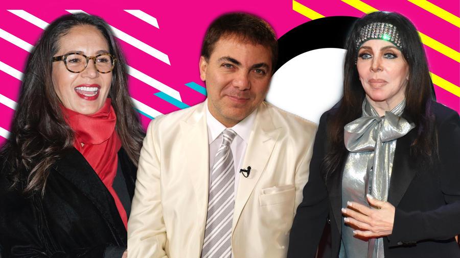 Yolanda Andrade, Cristian y Verónica Castro