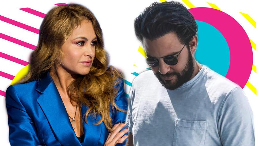 Paulina Rubio y Jerry Bazúa