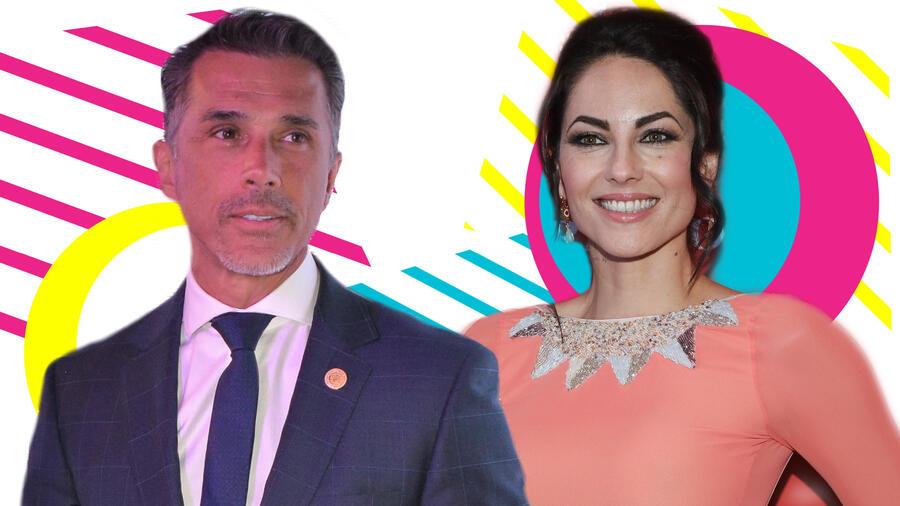 Sergio Mayer y Bárbara Mori