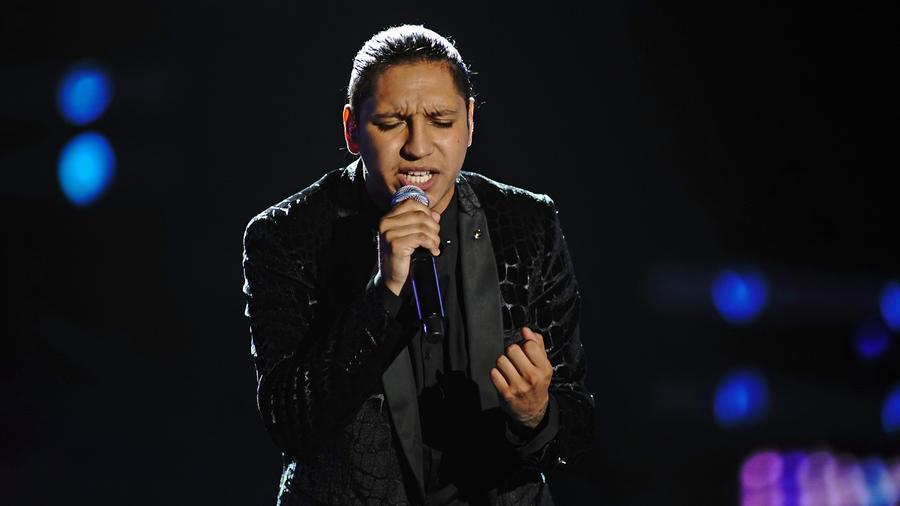 Adrian Torres en los enfrentamientos de La Voz US 2