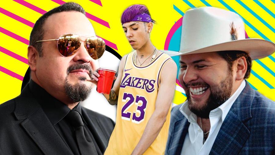 Pepe Aguilar, Natanael Cano y El Fantasma