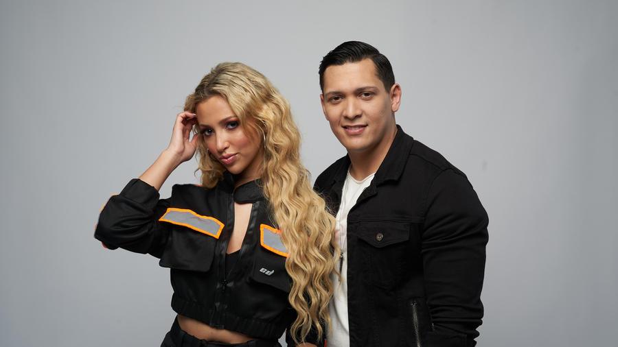 Franchesca Maia y Aaron Barrios, finalistas de El Comeback Stage