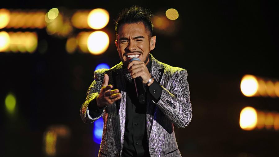 Jimmy Rodriguez en la semifinal de La Voz US 2