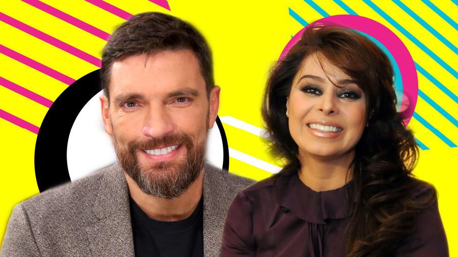 Julián Gil y Yadhira Carrillo