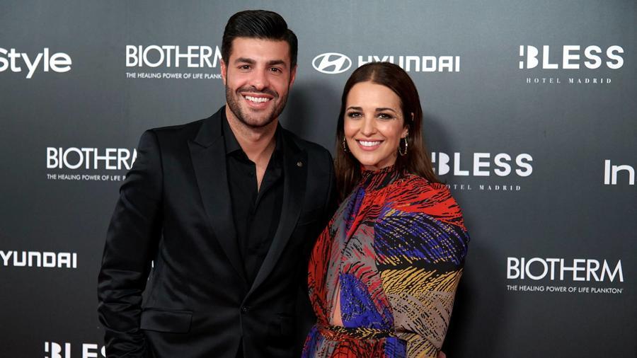 Miguel Torres con Paula Echevarría