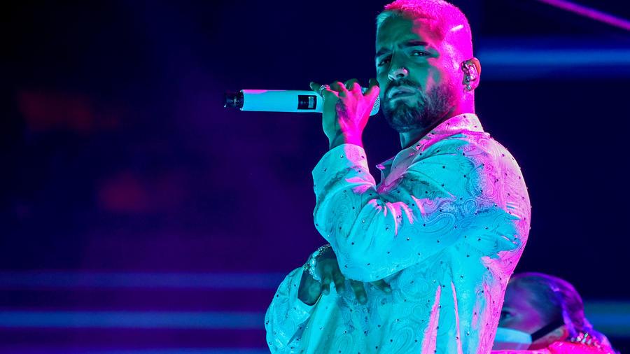 Maluma en los Premios Billboard 2020