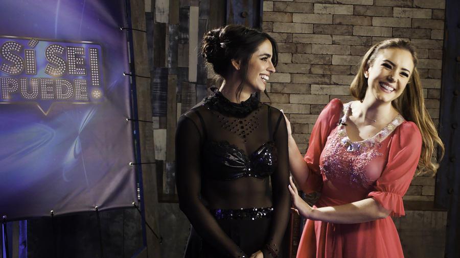 Ana Belena y Bárbara de Regil en entrevista para Sí Se Puede