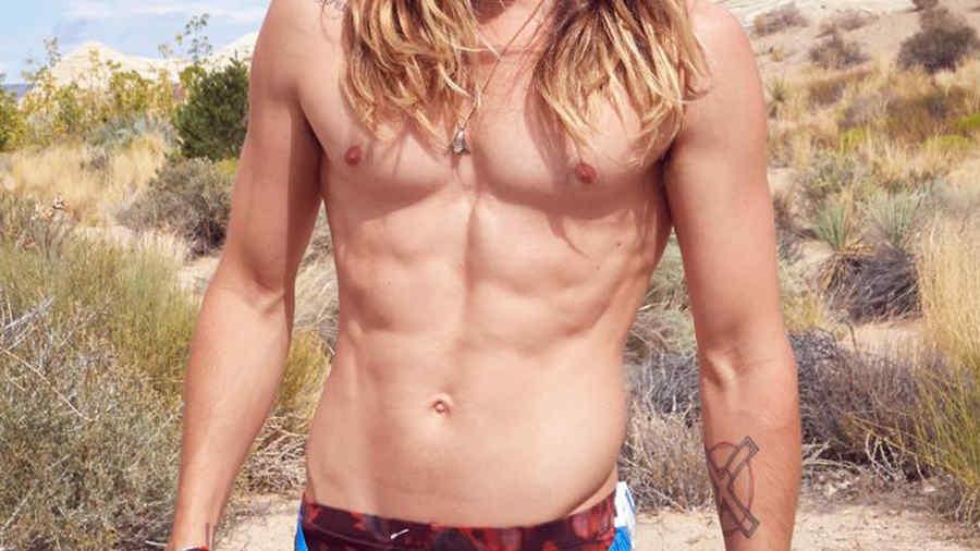 Jared Leto sin camiseta