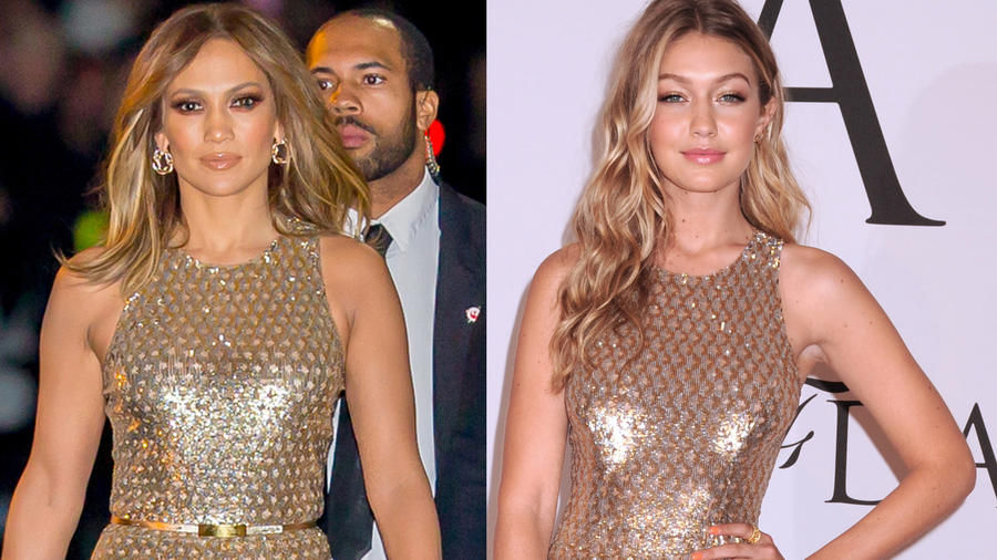 Jennifer Lopez vs. Gigi Hadid