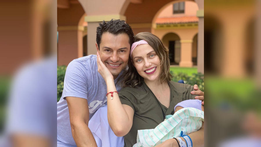 Jessica Carrillo y su esposo Raúl Ángeles