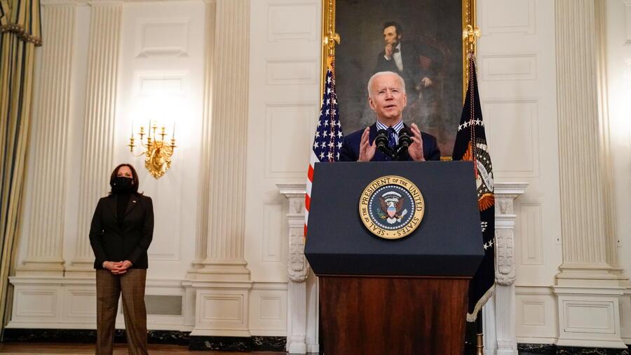 El presidente, Joe Biden, y la vicepresidenta, Kamala Harris.