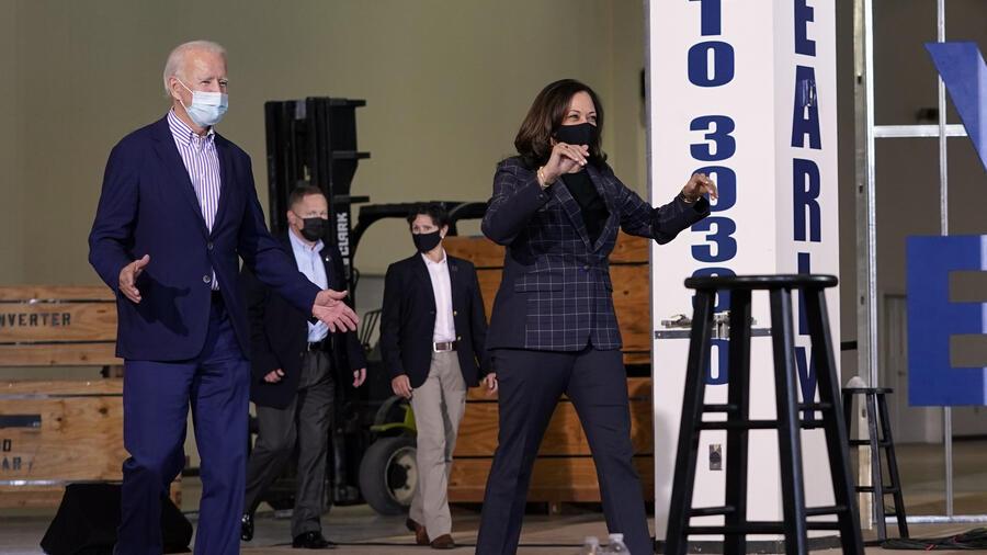 Joe Biden,Kamala Harris