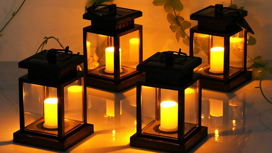 Lámparas para lograr ambientes diferentes en tu patio