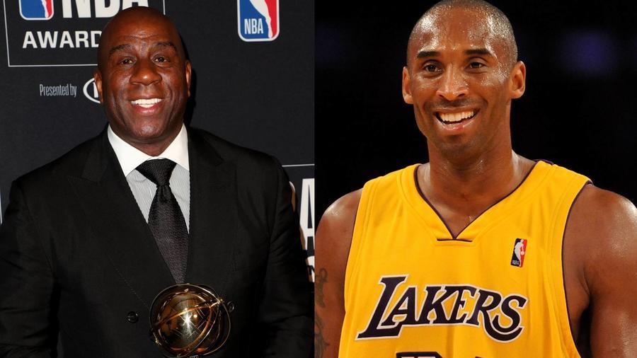 'Magic' Johnson Jr. y Kobe Bryant