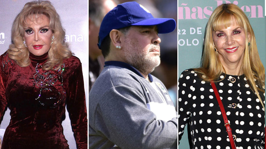 Merle Uribe, Diego Armando Maradona y Shanik Berman