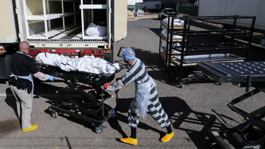 Un recluso del centro de detención del condado de El Paso.