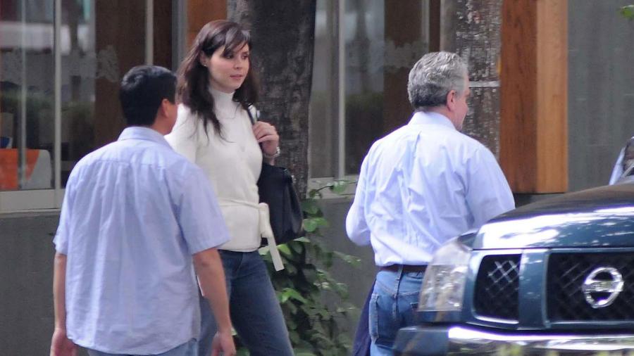 Paulina Velasco en la Ciudad de México