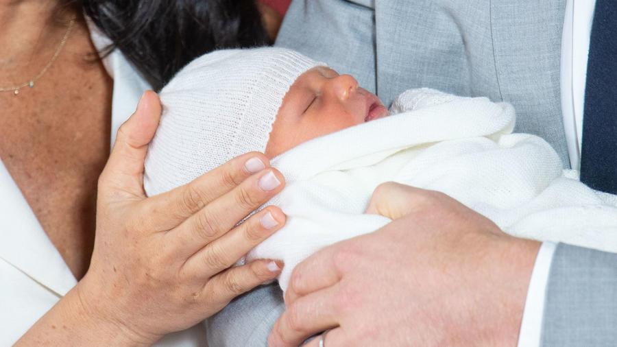 Primera foto del hijo de los duques de Sussex
