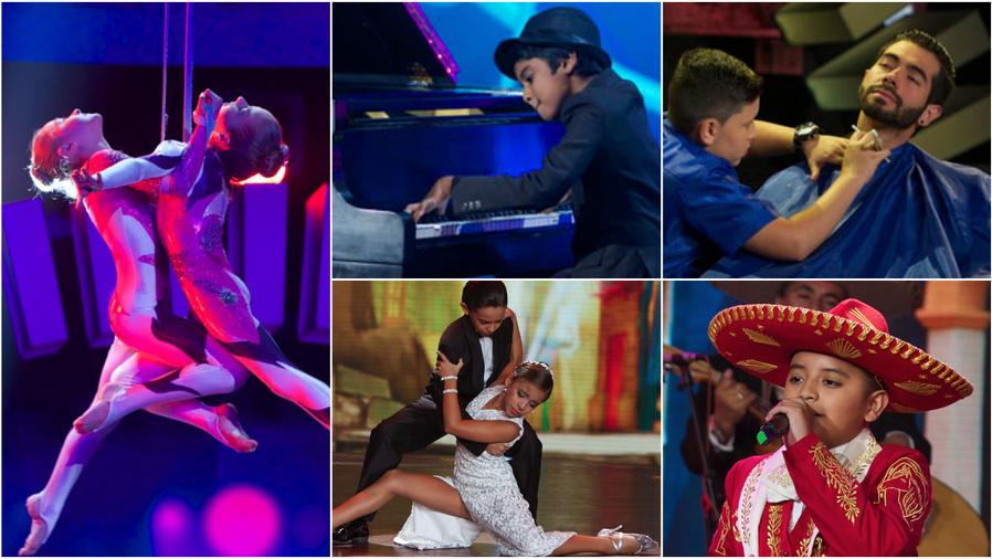Concursantes de Siempre Niños show 8