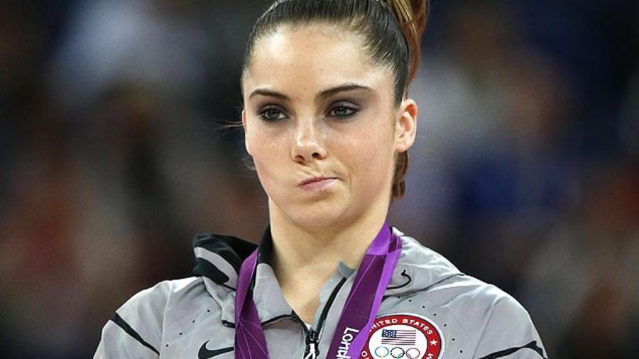 La gimnasta McKayla Maroney. Foto de archivo de AP