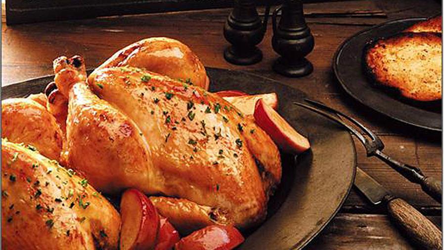 Recetas de cocina: Cómo hacer Rostizado de Pollo y Papas
