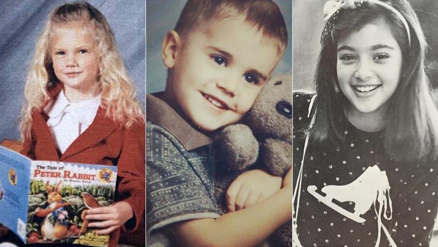 Taylor Swift, Justin Bieber, Kim Kardashian