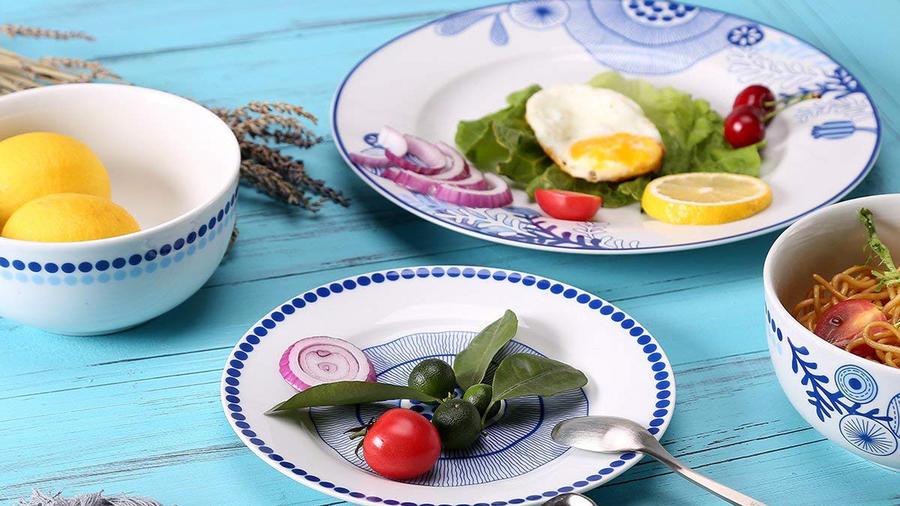 Vajillas para modernizar tu cocina sin gastar tanto