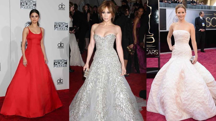 Selena Gomez, Jennifer Lopez, Jennifer  Lawrence