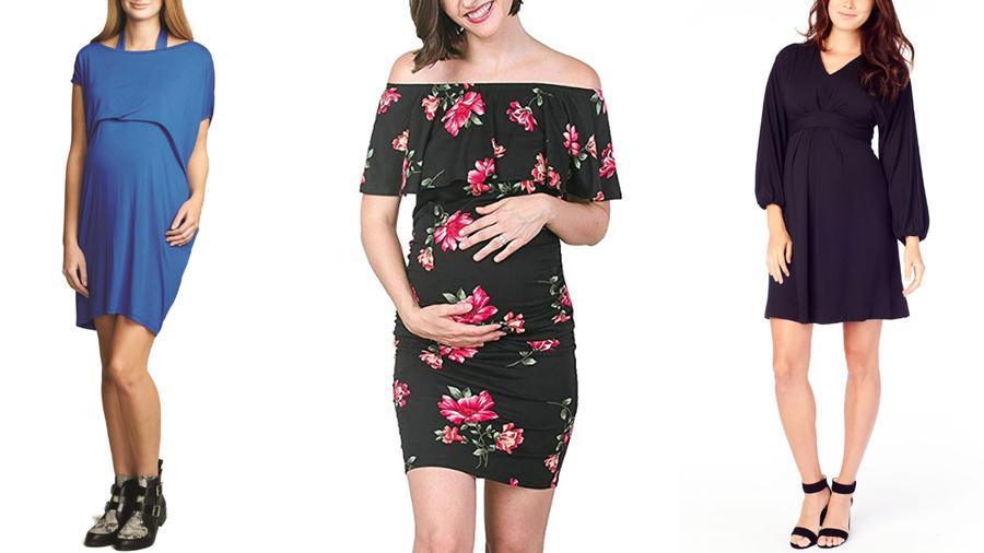 Vestidos de maternidad para olvidarte del calor