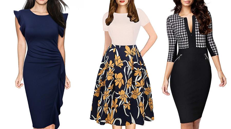 Sé la mejor vestida de la oficina con estos 10 vestidos