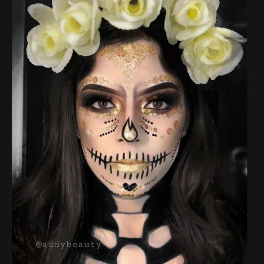 15 Ideas Para Llevar Tu Maquillaje De Catrina A Otro Nivel