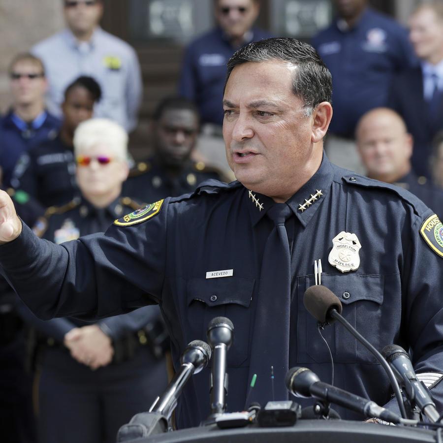 El jefe de policía de Houston, Art Acevedo, en un evento en Austin, Texas, el 25 de julio de 2017.