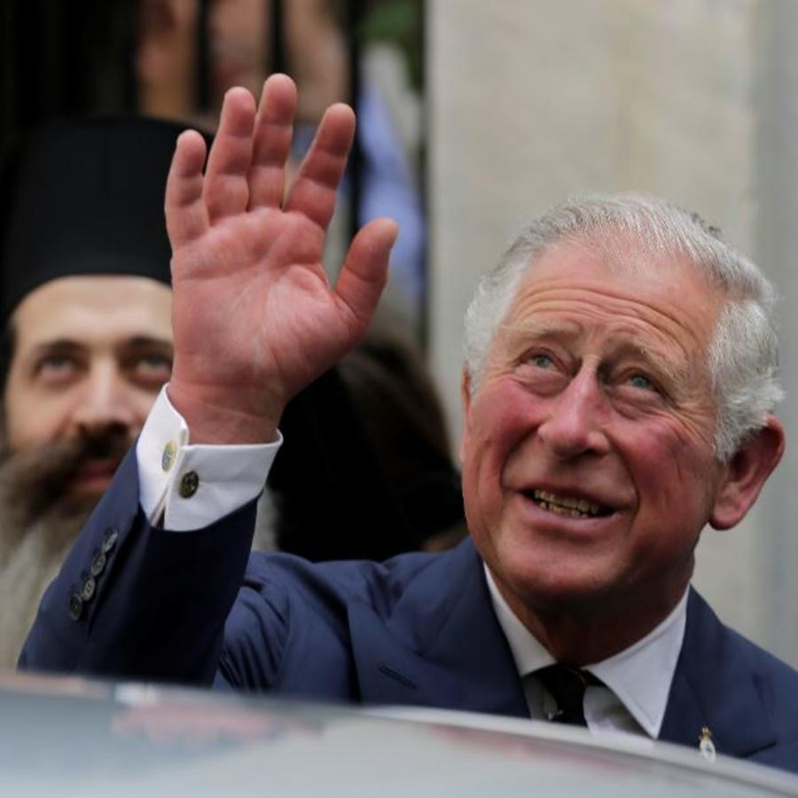 El Principe de Gales en una foto de archivo.