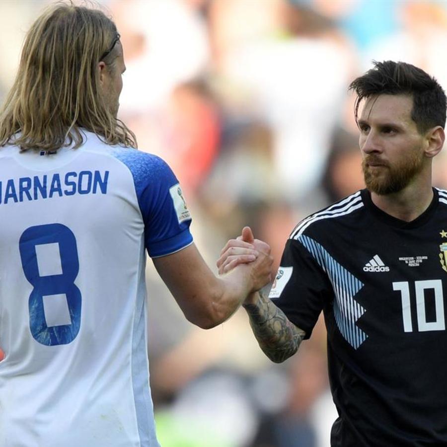 Argentina vs. Islandia HL