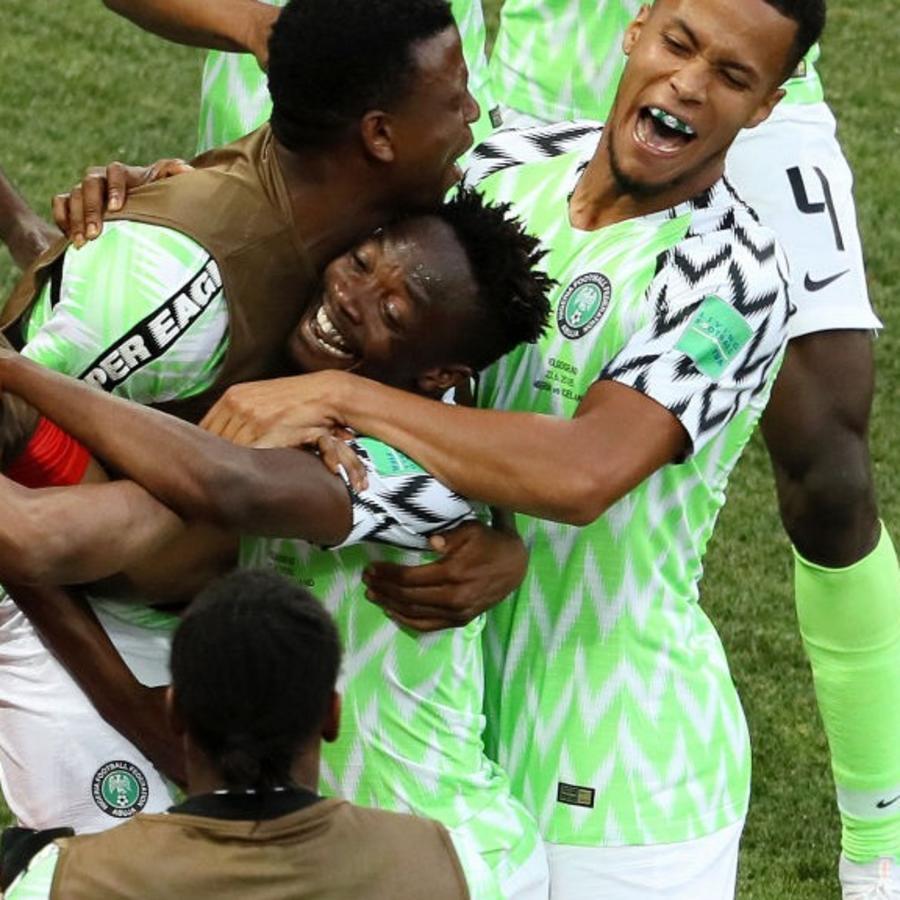Nigeria vs. Islanda HL