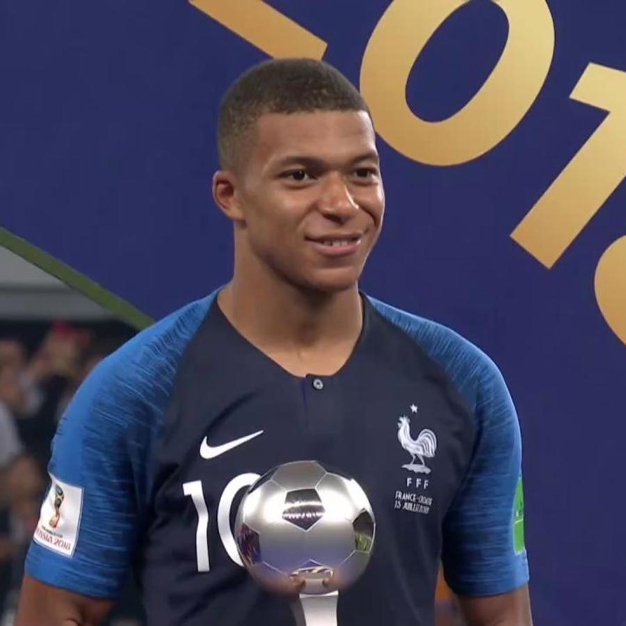Mbappe mejor jugador joven