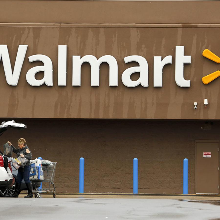 Una foto de archivo de un Walmart.