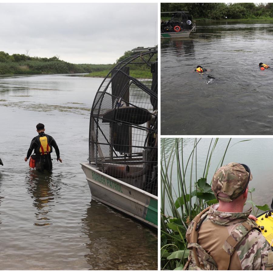 Patrulla Fronteriza busca a niña de dos años desaparecida en Río Grande