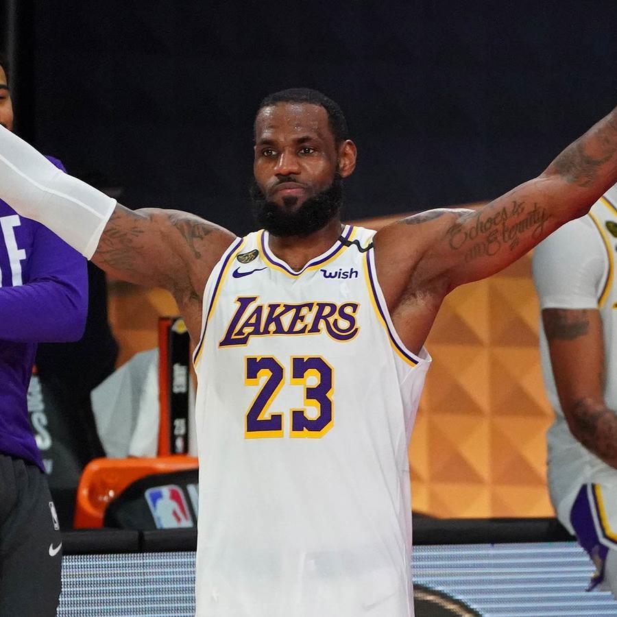 LeBron James en Los Angeles Lakers