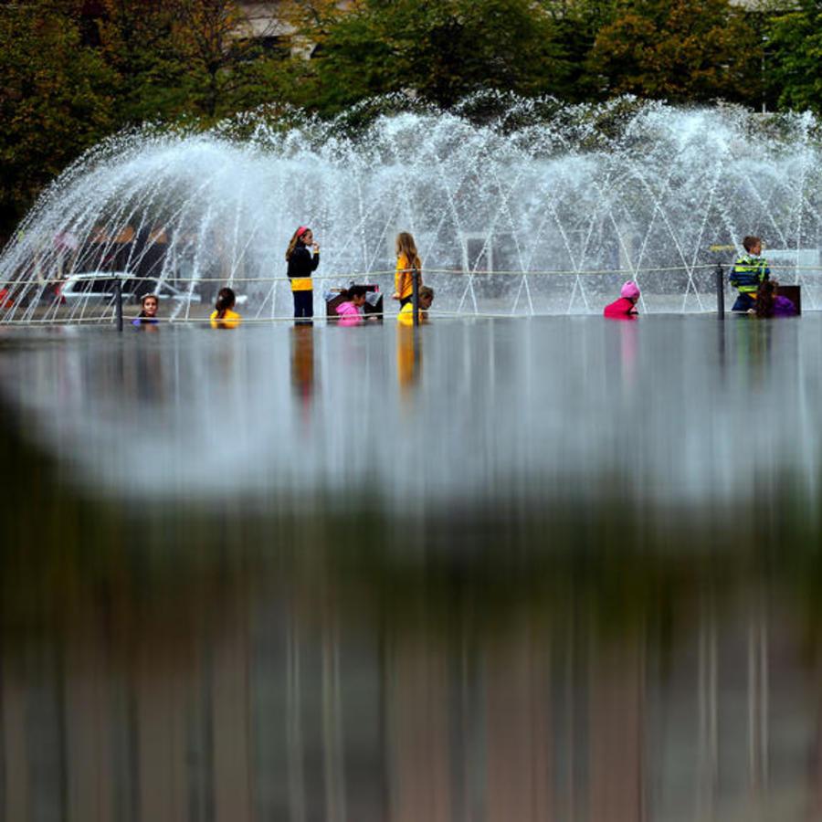 Christian Science Center Fountain