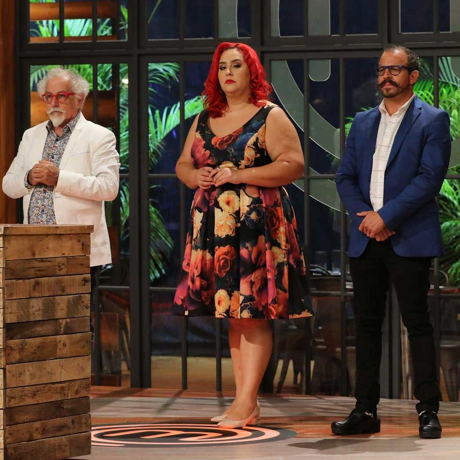 Ennio Carota, Claudia Sandoval y Benito Molina
