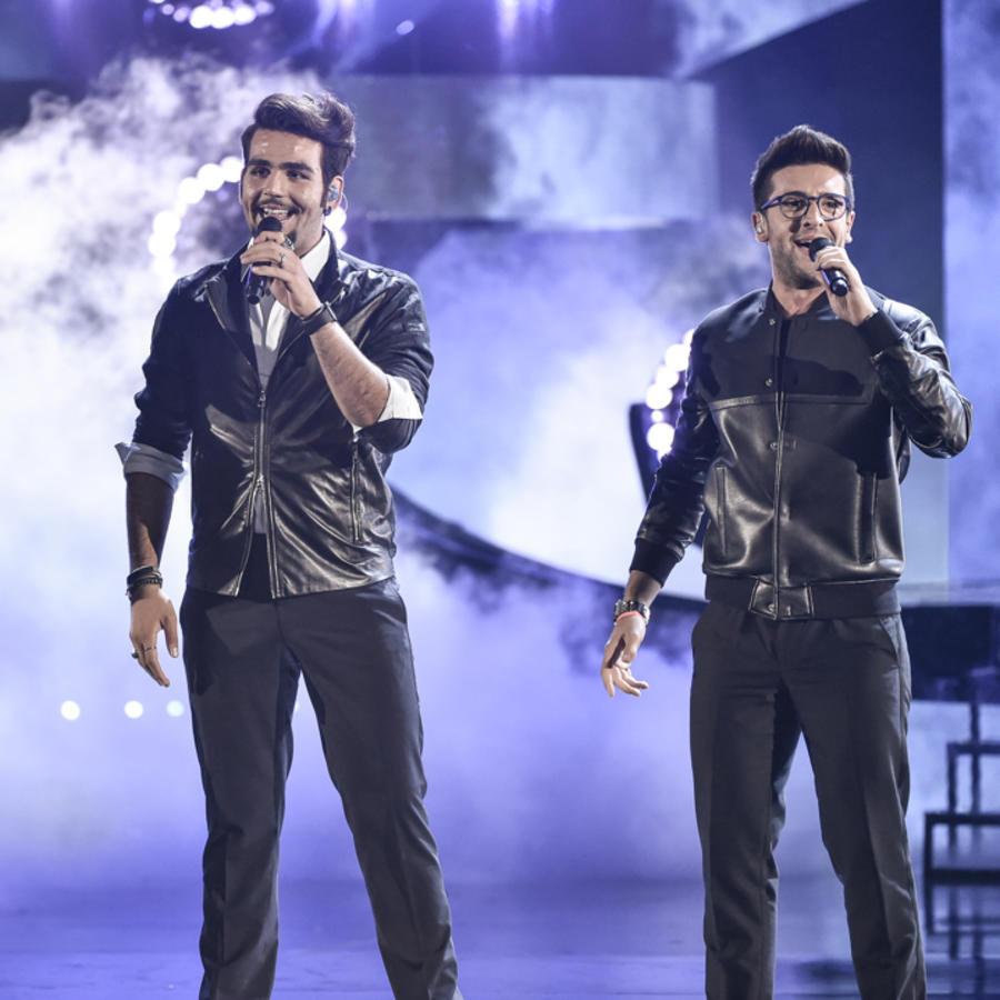 Il Volo canta en los Latin AMAs 2015