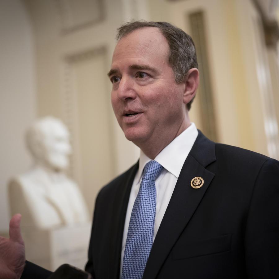 El presidente del Comité de Inteligencia de la Cámara de Representantes, Adam Schiff.