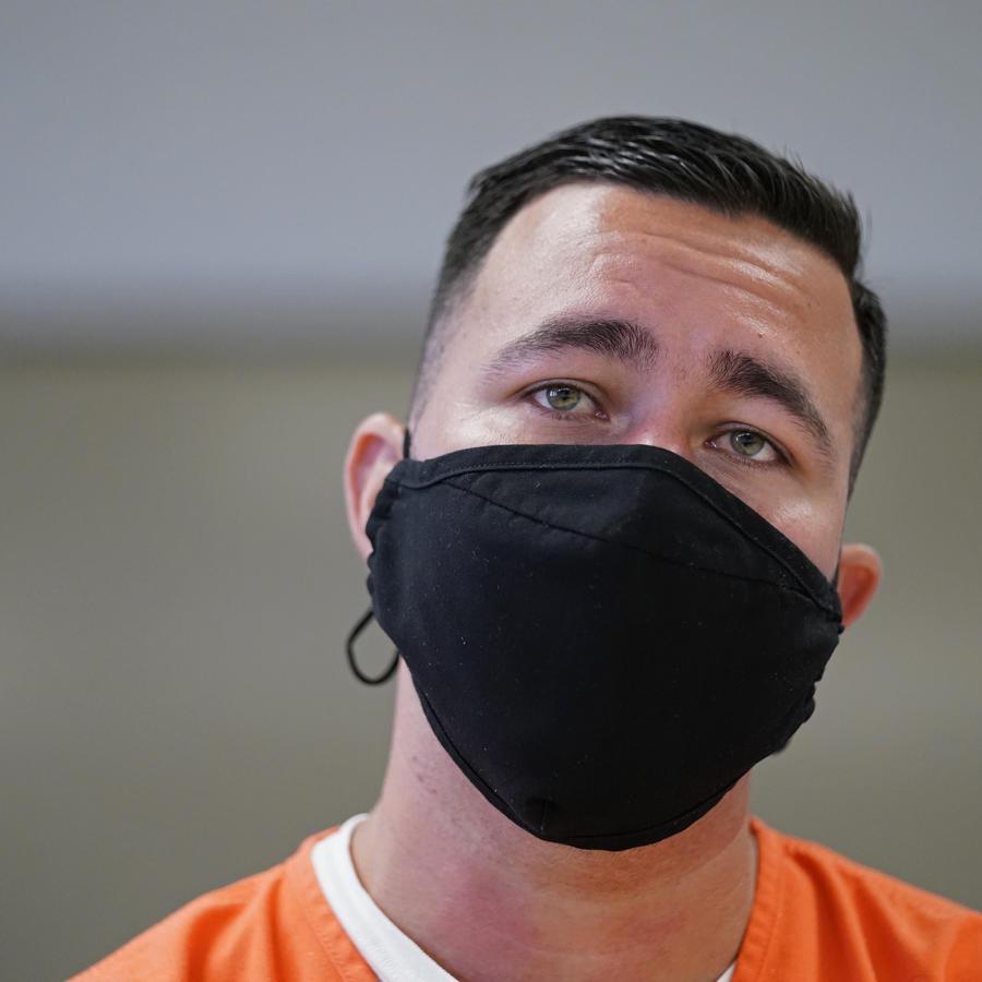 Alexander Martínez dentro del Centro Correccional Winn en Winnfield.