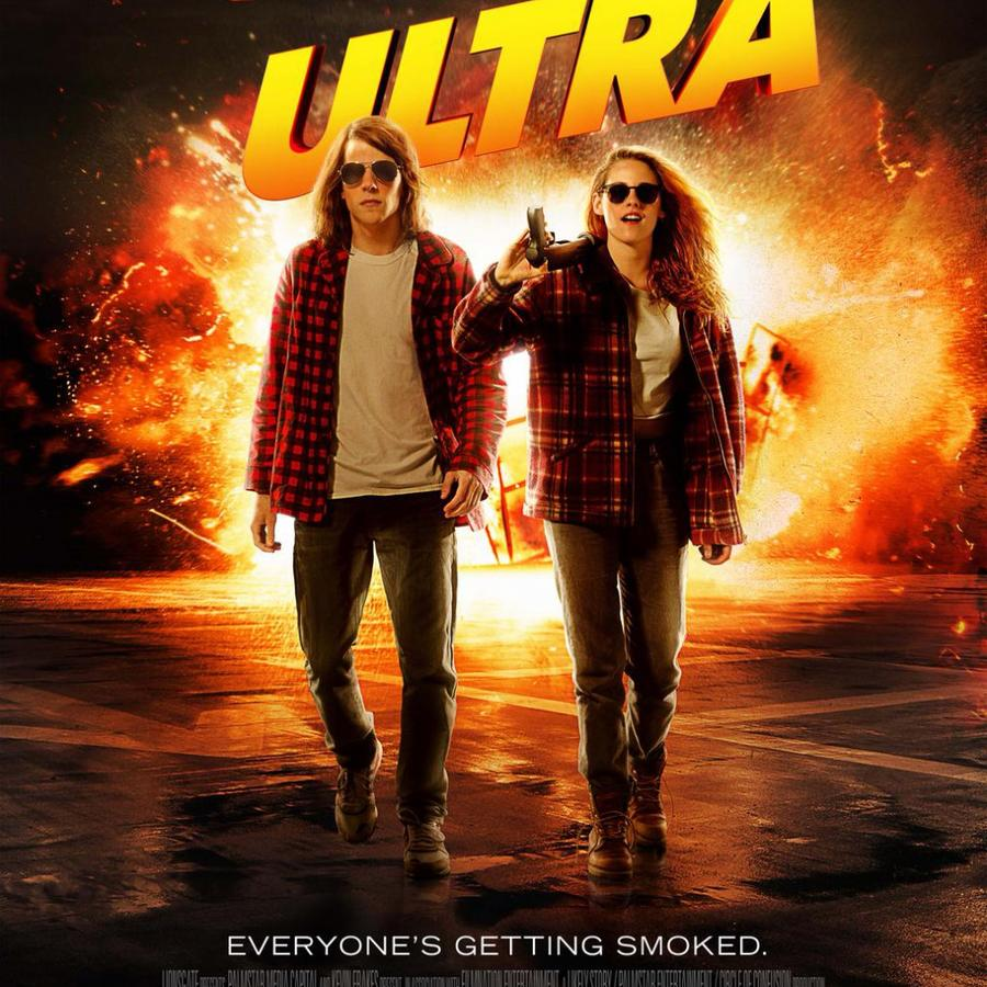 "Póster de la película ""American Ultra""."
