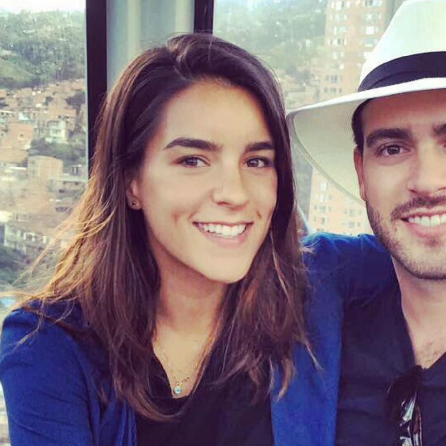 Ana Araujo y Pablo Lyle